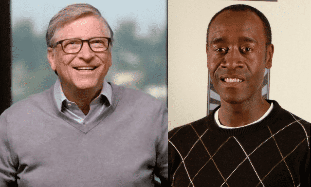 bill gates with don cheadle